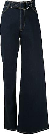 Ksenia Schnaider Calça jeans assimétrica - Azul