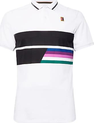 size 40 0ccd6 f7d60 Nike Nikecourt Advantage Printed Dri-fit Tennis Polo Shirt - White