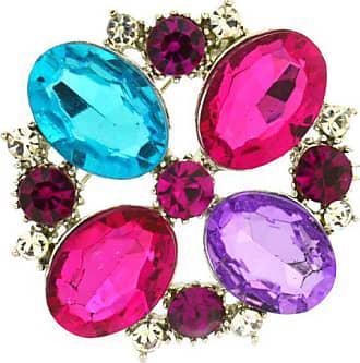 a771ec8cd1e9 Jodie Rose 24975 - Broche de metal con cristal