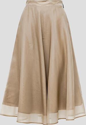 Msgm skirt in silk