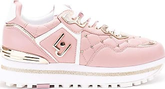 Liu Jo Fashion Woman BXX051EX01401597 Pink Synthetic Fibers Sneakers | Spring Summer 20