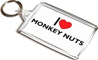 ILoveGifts KEYRING - I Love Monkey Nuts - Novelty Food & Drink Gift