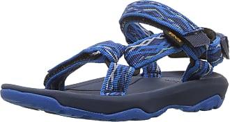 Teva Hurricane XLT2, Unisex Kids Open Toe Sandals Open Toe Sandals, Blue (Delmar Blue Dlb), 7 UK (24/25 EU)