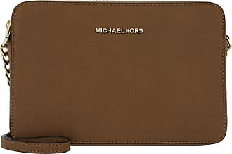 Michael Kors Cross Body Bags - Jet Set Travel LG EW Crossbody Luggage - cognac - Cross Body Bags for ladies