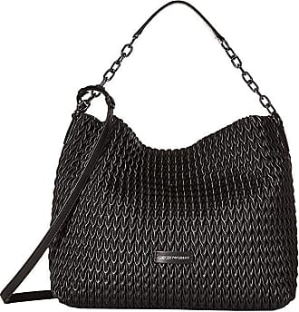 Emporio Armani Quilted Handbag Black Handbags