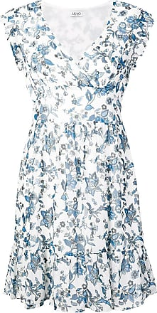 Liu Jo texan flower dress - White