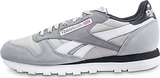 7c37678bdce18 Reebok Homme Classic Leather Montana Cans Color System Grise Baskets