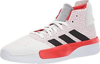 adidas Mens Pro Adversary 2019, White/Active red/Black, 10.5 M US