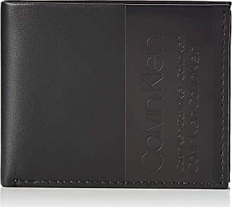 a4a5d7477 Calvin Klein Elevated Slimfold 6cc, Tarjeteros Hombre, Negro (Black), 8.6x1