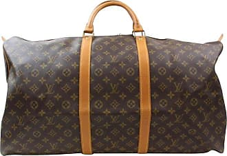 98ee6d72a55e Louis Vuitton Keepall Duffle Monogram 60 869085 Brown Canvas Weekend travel  Bag