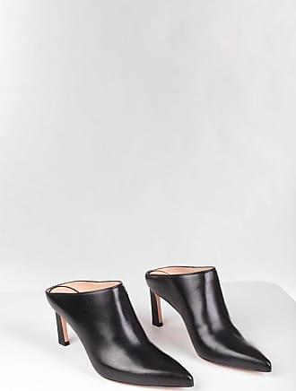Stuart Weitzman Leather MIRA 75 Mules 8 cm size 38,5
