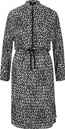 Bogner Annika Dress for Women - Black/Off-white