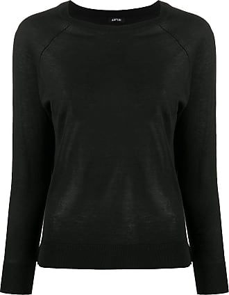 Aspesi Suéter com mangas raglã - Preto