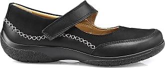 Hotter Mystic Extra Wide Womens Shoe 3 UK (5 UK, Mystic Extra Wide) Black