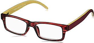 Peepers Unisex-Adult Sierra 2365175 Rectangular Reading Glasses, Burgundy, 1.75