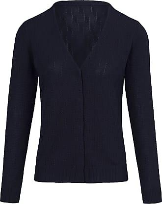 Peter Hahn Cardigan long sleeves in 100% cotton Peter Hahn blue