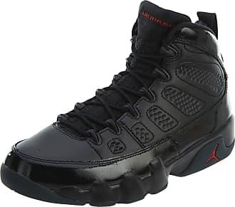 Nike Jordan Mens Air 9 Retro, Black/Anthracite/University Red, 6 UK