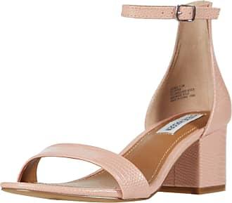 Steve Madden Womens Irenee Heels Sandals Pink (Pink Lizard), 37.5 EU