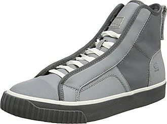 G-Star Mens Scuba MID Reflective Sneaker, Industrial Grey, 44 N EU (11 US)