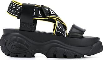 Buffalo Bo platform sandals - Black