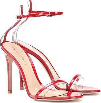 Gianvito Rossi G-string patent leather sandals