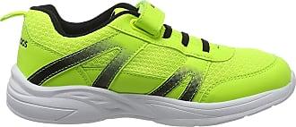 Kangaroos Unisex Adults Inko EV Sneaker, Yellow neon Yellow Jet Black 7013, 6 UK