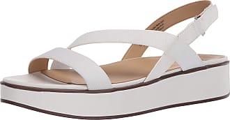 Naturalizer Womens CHARLIZE2 Sandal, White, 8.5 Wide