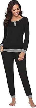 Top Qualität geeignet für Männer/Frauen Online-Shop Schlafanzüge in Schwarz: Shoppe jetzt bis zu −58% | Stylight
