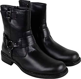 Kenneth Cole Unlisted Mens Slightly Off Harness Boot, Black, 11.5 M US