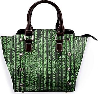 Browncin Matrix Digital Internet Four Seasons Detachable Fashion Trend Ladies Handbag Shoulder Bag Messenger Bags