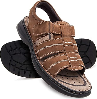Zerimar Mens Sandals | Mens Trekking Sandals | Sandals Man Hiking | Mens Leather Sandals | Men Summer Sandals