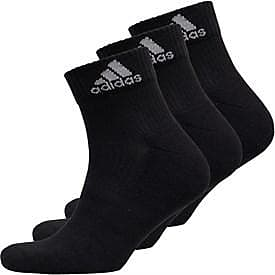 adidas three pack cushioned ankle socks. AA2286