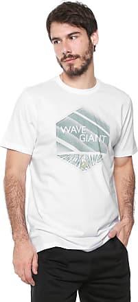 Wave Giant Camiseta WG Geometric Logo Branca