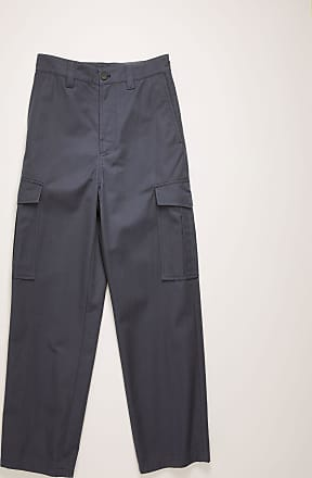 Acne Studios FN-MN-TROU000223 Space blue Cargo trousers