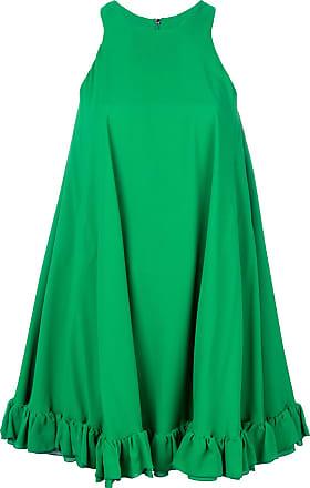 Msgm sleeveless swing dress - Green