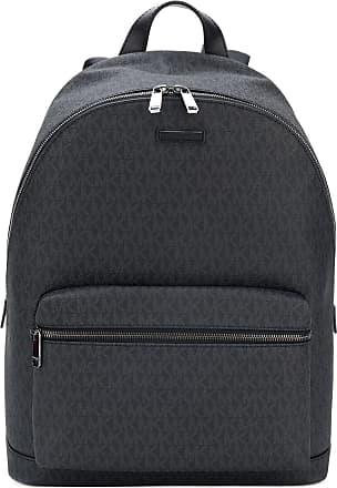 010192355656 Michael Kors streamlined MK logo backpack - Black