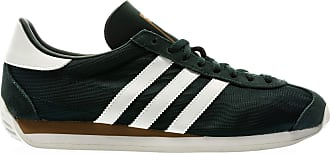 adidas Originals Country, Collegiate Green-Footwear White-Carbon, 8,5