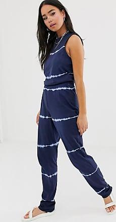 Noisy May Willow - Tuta jumpsuit tie-dye-Navy
