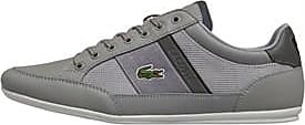 Lacoste low profile lace-up trainers