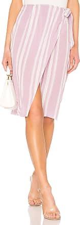 Superdown Trisha Wrap Skirt in Lavender