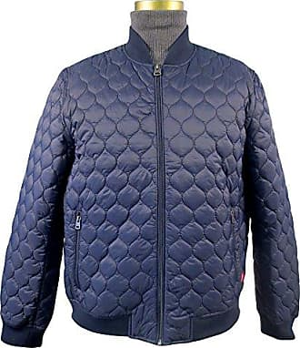 Levi's Mens Packable Quilted Light Weight Nylon Jacket, Navy, X-Large