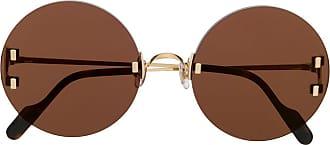 Cartier Óculos de sol C Décor - Marrom