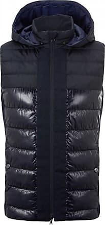 Bogner Willis Quilted vest for Men - Navy blue