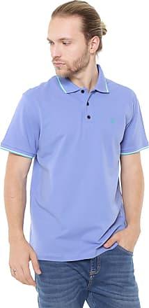 5478c668e0 John John Camisa Polo John John Reta Lines Azul