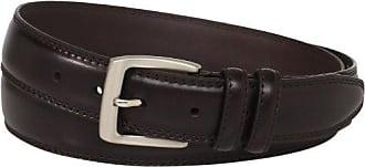Florsheim Mens Big-Tall Smooth Grain Padded Leather Belt 32MM, Brown, 52