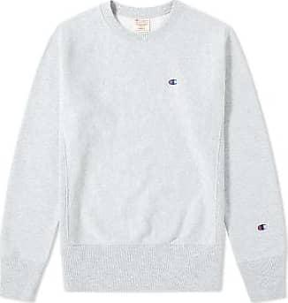 Champion Grau melierter Reverse Weave Classic Crew Sweater - cotton | GREY MARL | xxl