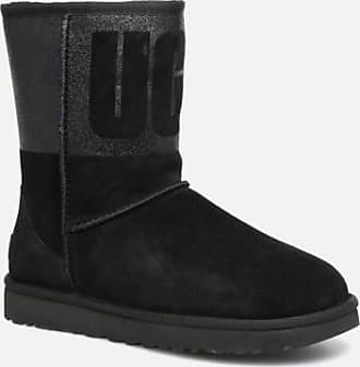 caab81aa52 UGG W Classic Short UGG Sparkle - Stiefel für Damen / schwarz