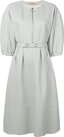 Yves Salomon leather dress - Green