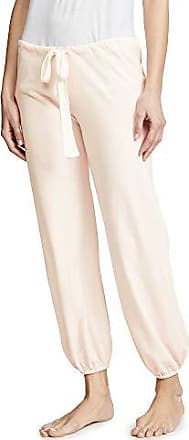 Eberjey Womens Heather Cropped Pant, Rosewater Large