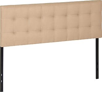 Best Choice Products Upholstered Tufted Fabric Queen Headboard - Beige